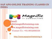sap apo online training |apo online classes|free demo