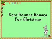 Rent Bounce Houses For Christmas
