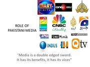 Role of  Media in Pakistan