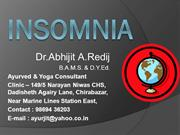 Yogic HELP for Insomnia by Abhijit Redij