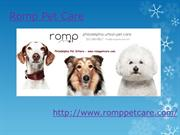 Philadelphia Dog Walkers - www.romppetcare.com