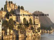 7 Day Golden Triangle Tour (OB-59)