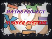 Number Systems for class 9