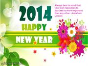 Happy New Year 2014 Wishes and Greetings