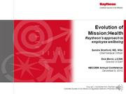 Stratford_Bond Presentation Evolution of Mission Health 12 6 13 vf sds