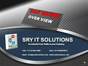 SAP BI/BW ONLINE TRAINING | BI/BW TRAINING | SRYIT SOLUTIONS