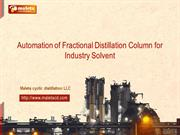 Ethanol plant,Fractional distillation column,Solvent Distillation