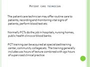 Average Salary Of A Patient Care Technician