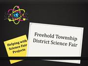 2014 Freehold Township District Science Fair Parent Presentation (2)