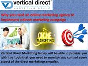 online marketing agency to implement a direct marketing campaign