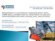 Redwood Plastics-PPT