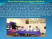 Texas State Little one Support Method