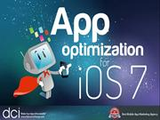 App optimization For IOS 7