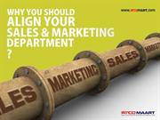 Why you should align your sales and marketing department?