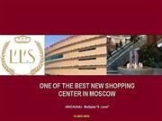 Moscow Shopping Center For Sale !