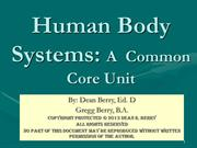 Human Body Systems 11-13 B