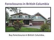Foreclosure in British Columbia
