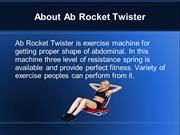 Ab Rocket Twister For Abdominal Exercise