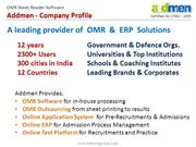 OMR sheet software Process Overview
