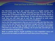 Find out how to become a Feminine Model