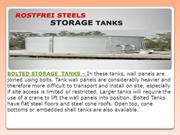 GRP Water Tanks | Prefabricated Tanks | Bolted Storage Tanks