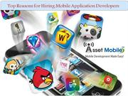 Why to Hire Mobile Application Developers