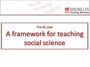 Block 2 Task 3a A framework for social science