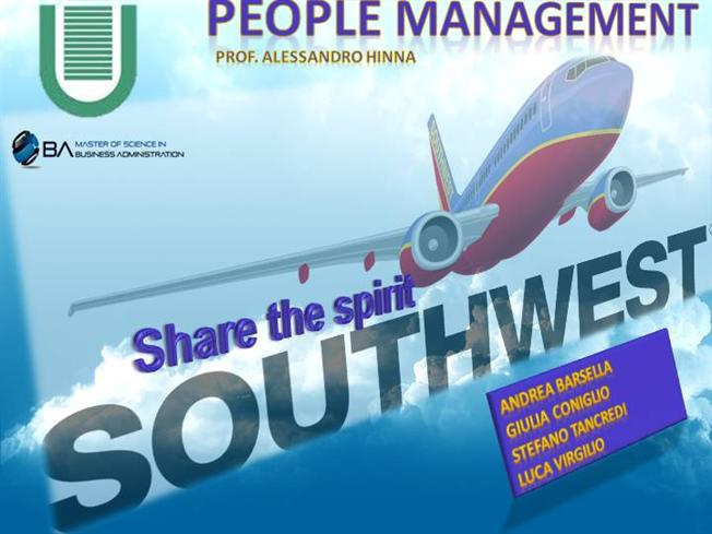 southwest airlines essay Instructions: the objective of the integrated semester is to help you extend your knowledge of how the finance, operations, management, and marketing disciplines work.