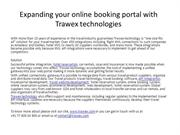 trawex - travel technology travel booking software