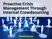 Proactive Crisis Management Through Internal Crowdsourcing