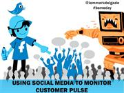 Using Social Media To Monitor Customer Pul