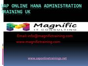 sap hana administration online training/sap hana online training