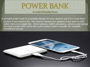 POWER BANK : An emergency charger for electronic gadgets