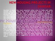 New Housing Projects In Dahisar