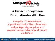 A perfect honeymoon Destination for All – Goa