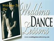 Wedding Dance Lessons at California