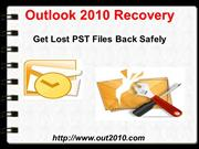 Recovery Outlook 2010