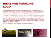 Progression Of Magazine