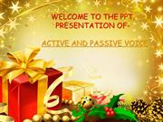 english-active and passive voice