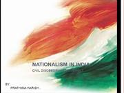 NATIONALISM IN INDIA NOW