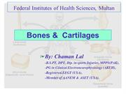 Bones & Cartilages By Chaman Lal Karotia (CK)