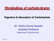 DR VISHNU PPT Digestion & Absoption