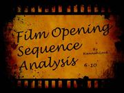 Sequences 6-10 Analysis