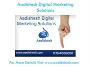 Aadishesh - Digitalmarketing Solutions