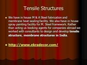 Tensile Structures, Fabric Tensile Structure, Tensile Structure,