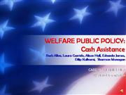 Welfare Public Policy