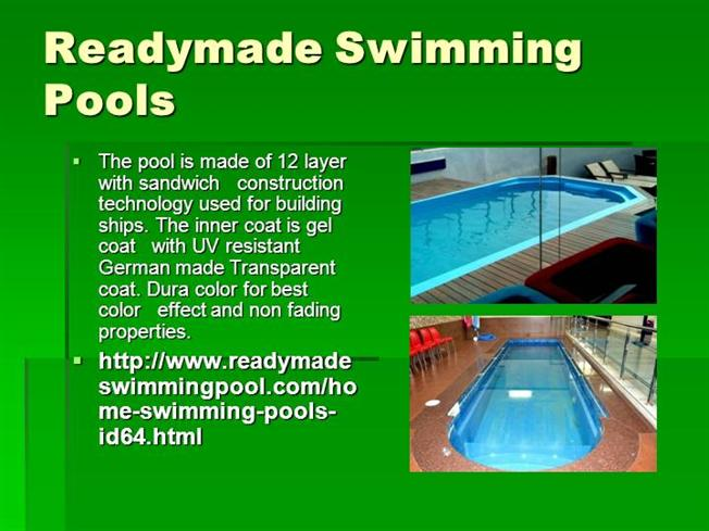 Readymade Swimmingpool |authorSTREAM