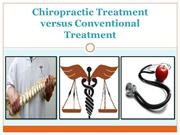 Chiropractic Treatment versus Conventional Treatment