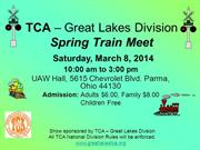 TCA – Great Lakes Division 3-8-14