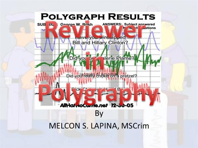 Reviewer in Polygraphy Updated 011414 |authorSTREAM